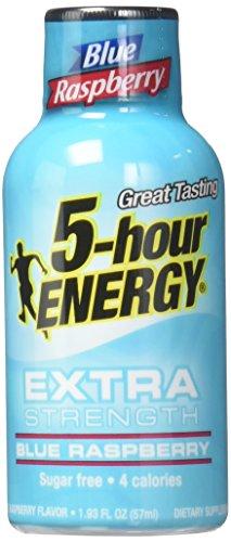 5 Hour Energy, Extra Strength Blue Raspberry 41euDS5tvQL