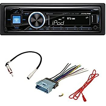 41euDcF72aL._SL500_AC_SS350_ amazon com alpine cde 143bt cd usb mp3 wma aux ipod iphone alpine cde 143bt wiring harness at bakdesigns.co