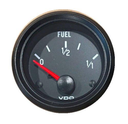 (VDO Gauge Fuel Level, Genuine Cockpit 301-015, 2