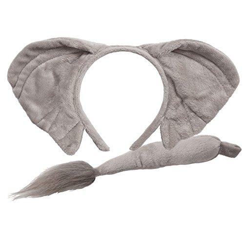 Halloween Elephant Ears (Animal Ears & Tail Set -)
