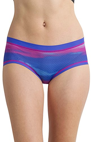 - ExOfficio Women's Give-N-Go Sport Mesh Print Hipkini Underwear, Regal/Watercolor, X-Large