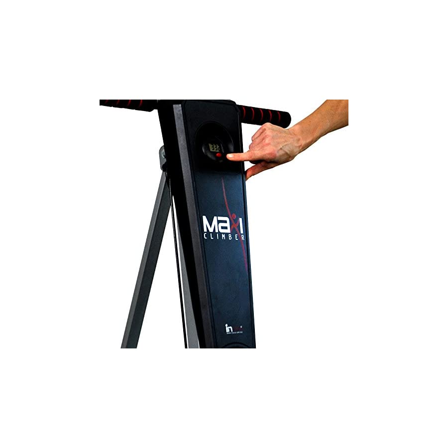 "MaxiClimber(r) The original patented Vertical Climber,""As Seen On TV"" Full Body Workout with BONUS Fitness App for IOS and Android"
