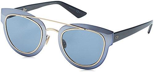 Christian Dior - DIOR CHROMIC, Cat Eye, metal, women, AZURE GOLD BLUE/BLUE(RKZ/9A), ()