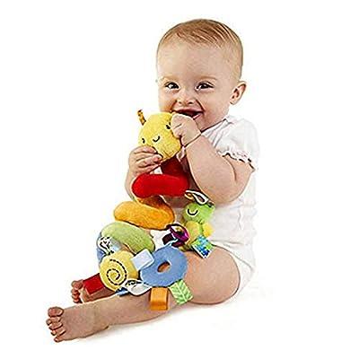 Baby Kids Crib Cot Pram Hanging Rattles Spiral Stroller Car Seat Toy : Baby