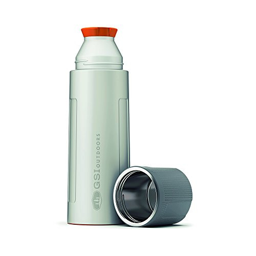 GSI 67460 Outdoors Vacuum Thermosflasche 1,0 ltr. Silber