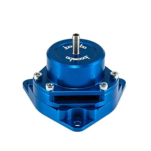 Civic Turbo Bolt - Boomba Racing Blue Bolt-On Blow Off Valve BOV for 2016+ Honda Civic 1.5L Turbo