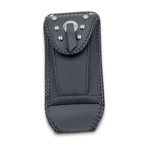 Mustang Studded Tank Bib with Pouch for Harley Davidson 1984-99 Softail