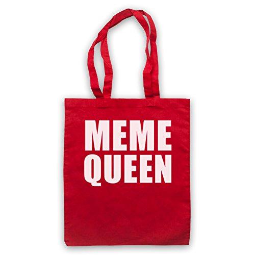 Meme Queen Meme Bolso Rojo