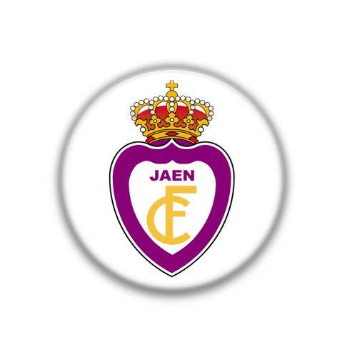 Jaen : Spanish Football League, Pinback Button Badge 1.50 Inch (38mm)
