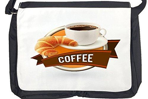 Borsa Tracolla Coffee Cafe Bar Caffè cornetto Stampato