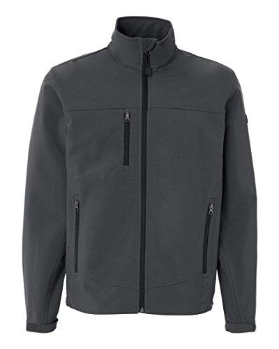 5350 Dri Duck Adult Motion Soft Shell Jacket (Charcoal) (Motion Soft Shell Jacket)