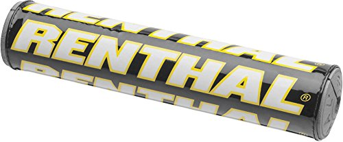 Renthal Team Issue SX Handlebar Pad-Black/White/Yellow (Team Yellow Issue)