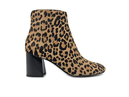 Kylie HALDLEE3 Stivaletto Donna Kendall Brown 7 Leopardato 5 4CAq8