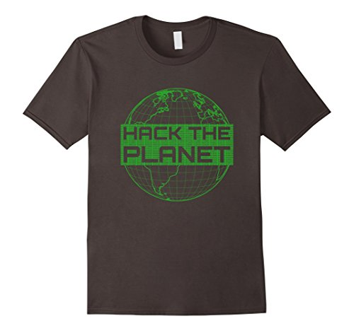 Men's Hack the Planet Software Developer T-Shirt - Green Design XL ()