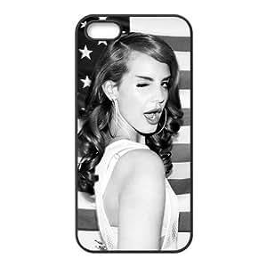 Customiz American Famous Singer Lana Del Rey Back Case for iphone 5 5S JN5S-2478