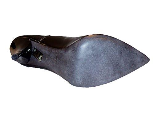 Tiffi Damen Pumps Lackleder 214-90 schwarz Grösse 39