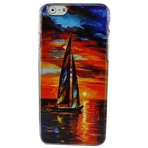 JOE Beautiful Sailing Plastic Hard Back Cover for iPhone 6 Plus