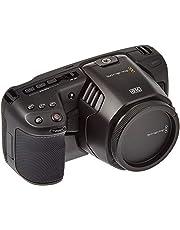 Blackmagic Design Pocket Cinema Camera 6K (5inch LCD, externe USB-C media schijf opname, inclusief accessoires), zwart