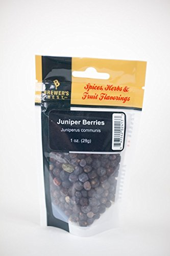 Brewer's Best Brewing Herbs and Spices - Juniper Berries, 1oz.
