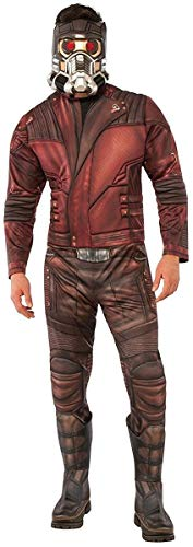 Rubie's Men's Marvel Guardians of the Galaxy Vol. 2 Star-Lord Deluxe Costume, Standard ()