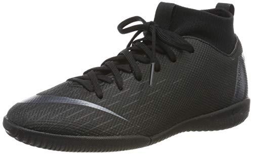 Nike Junior SuperflyX 6 Academy Indoor Soccer Shoes (2.5) Black