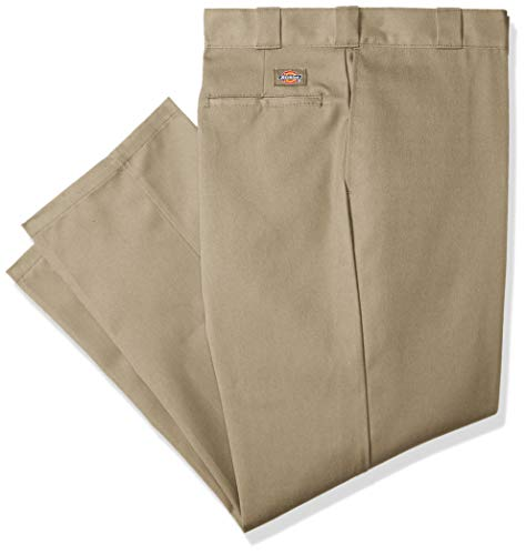 Dickies Men's Original 874 Work Pant, Khaki, 33W x 31L