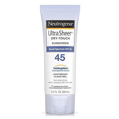 Neutrogena Ultra Sheer Dry-Touch Sunscreen SPF 45, 3 oz