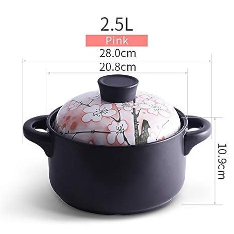 Amazon.com: Wwshm Olla, cazuela, wok, sopa, sartén, Bibimbap ...