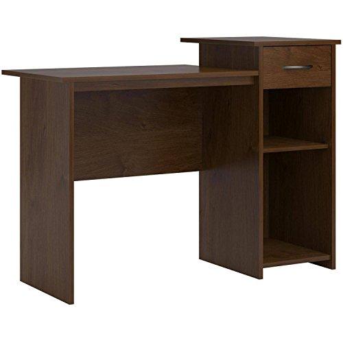 Mainstays Student Desk with Adjustable Storage Shelf in Northfield Alder by Mainstay