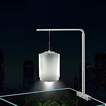 Soporte de Aluminio para Lampara Vertical en Acuario o Gambario: Amazon.es: Productos para mascotas