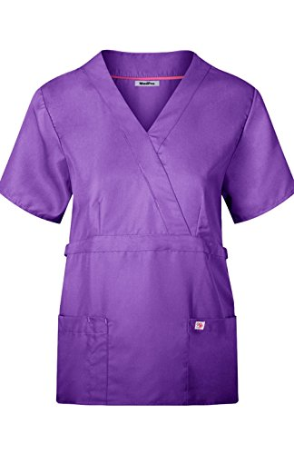 MedPro Womens Medical Scrub Buttons