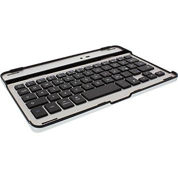 InLine 55371 teclado para móvil - teclados para móviles (Negro, Aluminio, Mini, QWERTZ, Alemán, 60h): Amazon.es: Informática