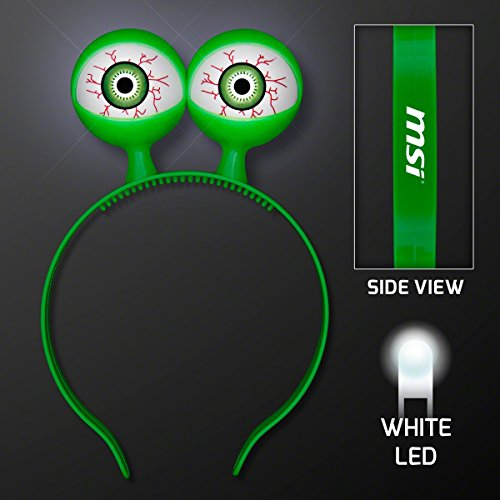 blinkee Flashing Spooky Eyeballs Headband by -