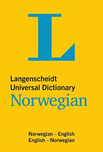 Langenscheidt Universal Dictionary Norwegian: Norwegian-English / English-Norwegian