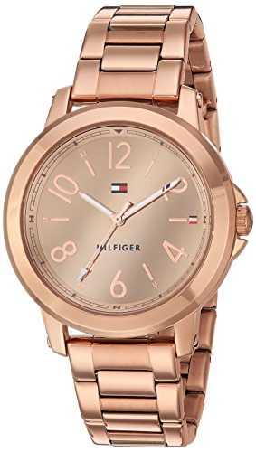 Tommy Hilfiger Women's 'Sport' Quartz Gold Casual Watch(Model: 1781752)