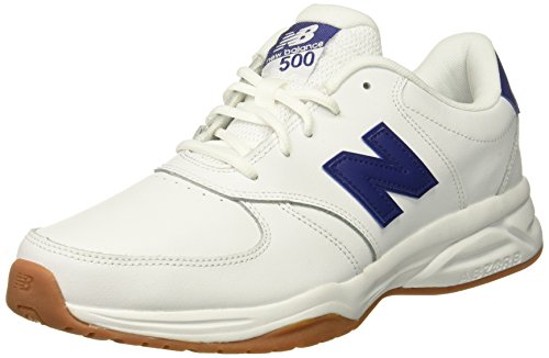 New Balance Men's 500v1 Leather Cross-Trainer-Shoes