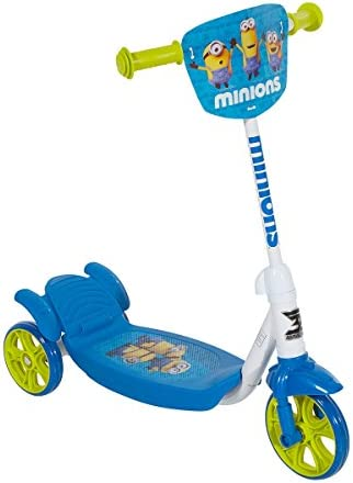 Minions 8004-06CY 3-Wheeled Scooter, 6 , Blue White Yellow