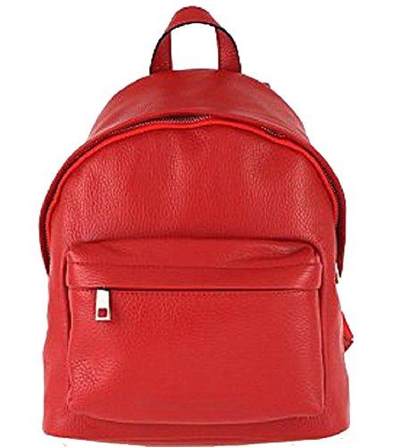 Sac à pour dos Rouge porté Bottega femme au main Carele 5qnWEBSwfp
