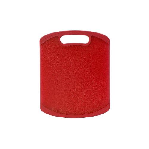 Farberware Nonslip Cutting Board 8-Inch-by-10-Inch, Red