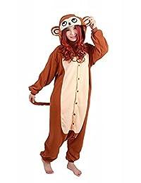 WOTOGOLD Animal Cosplay Costume Kungfu Panda Unisex Adult Pajamas