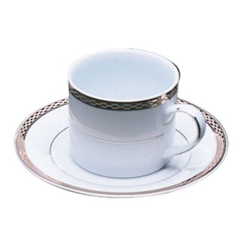 10 Strawberry Street Athens Cup and Saucer (Set of 6) ATH-9P6