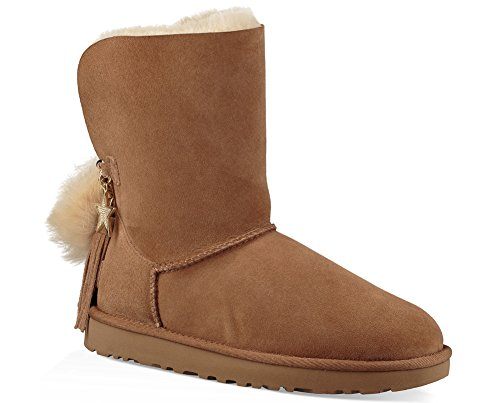 Bootss Classic Marron Chestnut Ugg Charm 0ZZxrnaY