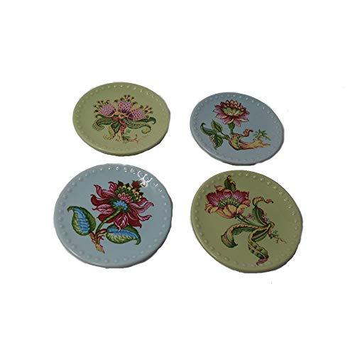 Manual Woodworker Floral Impressions Mini Plate Set