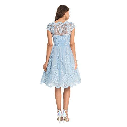 Chi Chi London - Vestido - trapecio - para mujer Azul