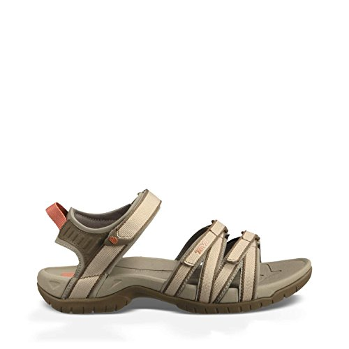 Women Footwear Sandals - Teva Women's Tirra Sandal,Simply Taupe,11 M US