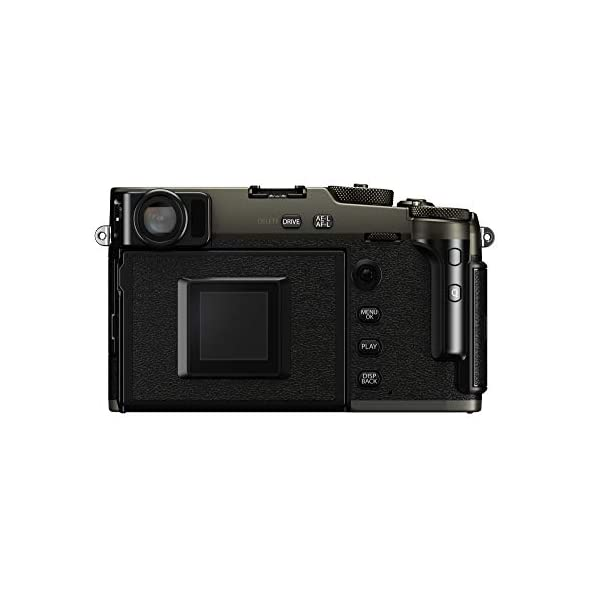 RetinaPix Fujifilm X-Pro3 26 MP Mirrorless Camera Body Only - Dura Black (APS-C X-Trans CMOS4 Sensor, Hybrid OVF/EVF, LCD Screen, Low-Light AF, Film Simulation Modes, Weather Resistant, Motion Blur Reduction)