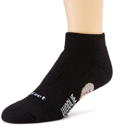 DeFeet Men's Woolie Boolie Lo Sock, Black, Large