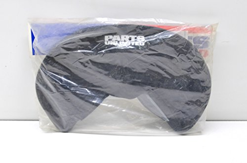 Parts Unlimited Snowmobile Windshield Bag - Black ()