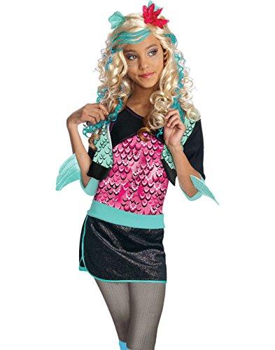 Disney Monster High Lagoona Blue Wig Girl's Costume -