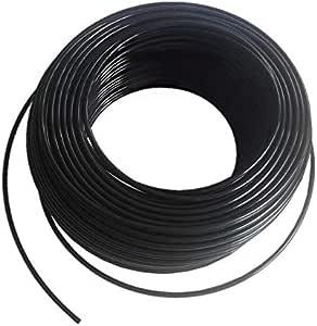 خرطوم أسود 50 متر 6 مل مناسب لأجهزة الضغط المنخفظ لتبريد الضباب